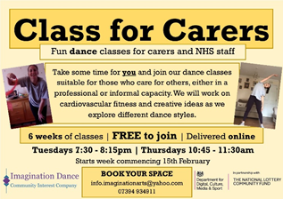 Class for Carers ad